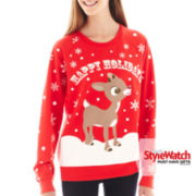 Reindeer Holiday Sweatshirt