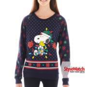 Peanuts Snoopy Holiday Sweatshirt