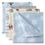 JCPenney Home™ Holiday Printed Flannel Sheet Set