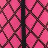 Pink/blk Grid Prt