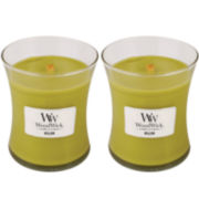WoodWick® Set of 2 Medium Willow Candles
