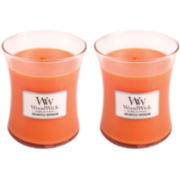 WoodWick® Set of 2 Medium Dreamsicle Daydream Candles