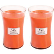 WoodWick® Set of 2 Large Dreamsicle Daydream Candles