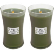 WoodWick® Set of 2 Large Frasier Fir Candles