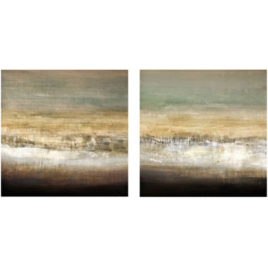 jcpenney.com | PTM Images™ Set of 2 Earthy Horizon Canvas Wall Art