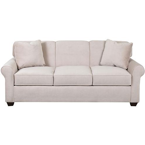Sleeper Possibilities Roll-Arm Sofa