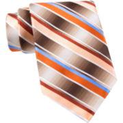 Van Heusen® Brave Striped Silk Tie