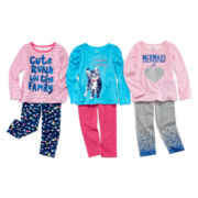 Okie Dokie® Long-Sleeve Tee or Leggings - Toddler Girls 2t-5t