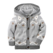 Carter's® Sweater Jacket - Baby Boys newborn-24m