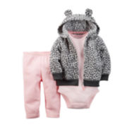 Carter's® Hoodie, Bodysuit and Leggings - Baby Girls newborn-24m