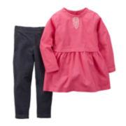 Carter's® Dress and Jeggings - Baby Girls newborn-24m