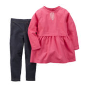 Carter's® Dress and Jeggings - Toddler Girls 2t-5t