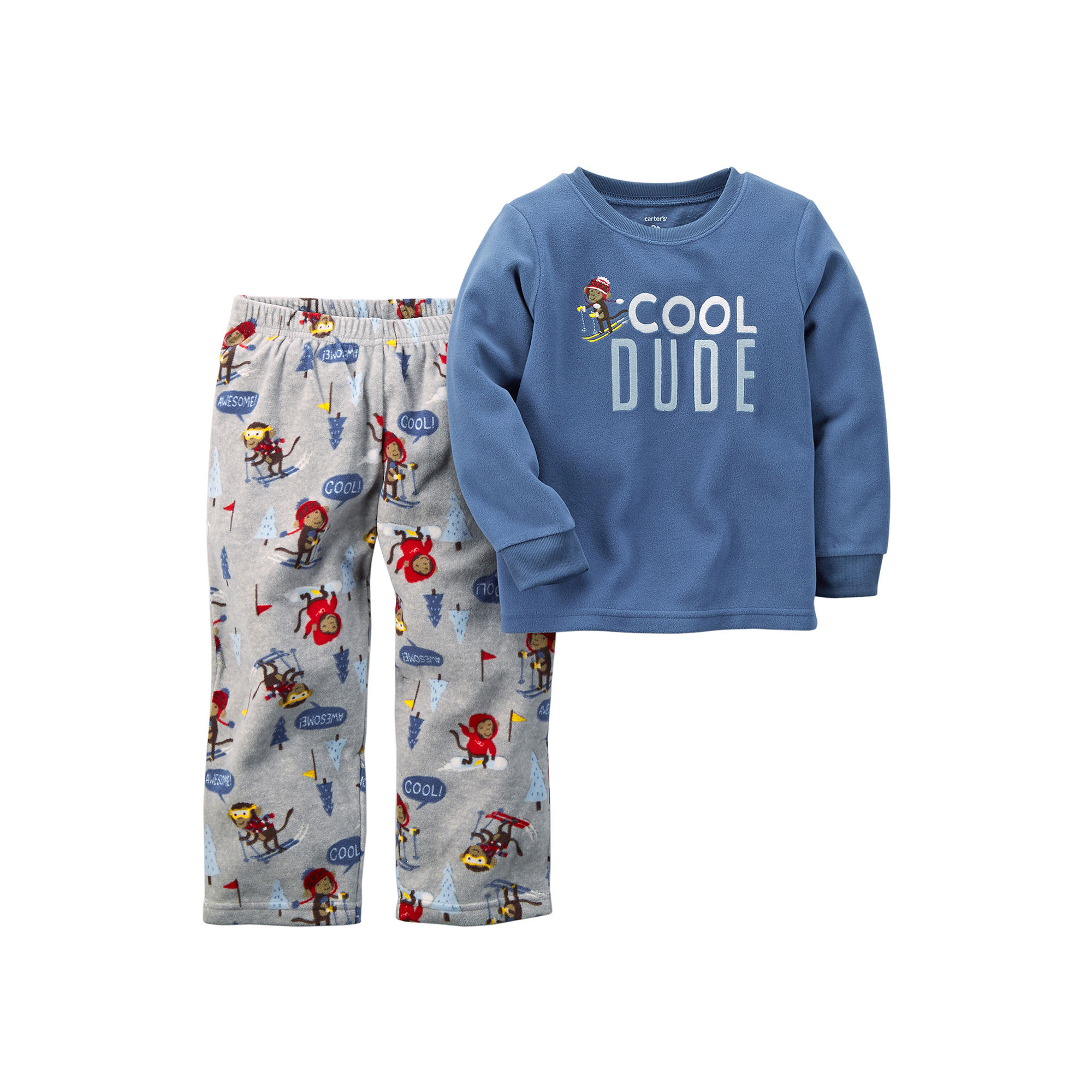 577298d59 UPC 888510793830 - Carter s Cool Dude Pajama Set - Toddler Boys 2t ...