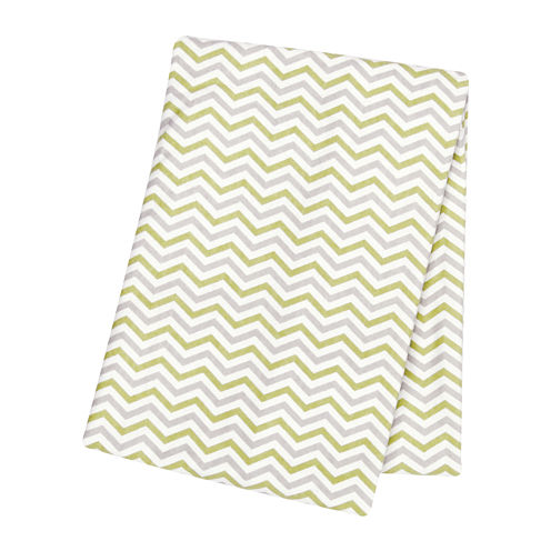Trend Lab® Chevron Swaddle Blanket - Sage and Gray