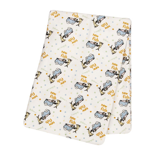 Trend Lab® Dr. Suess One Fish, Two Fish Deluxe Swaddle Blanket