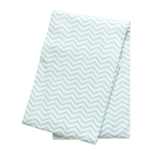 Trend Lab® Mint Chevron Deluxe Swaddle Blanket