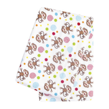 jcpenney.com | Trend Lab® Monkeys Deluxe Swaddle Blanket