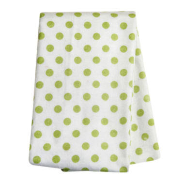 jcpenney.com | Trend Lab® Sage Dot Deluxe Swaddle Blanket