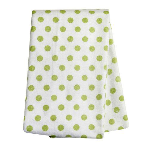 Trend Lab® Sage Dot Deluxe Swaddle Blanket