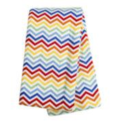 Trend Lab® Rainbow Chevron Deluxe Swaddle Blanket