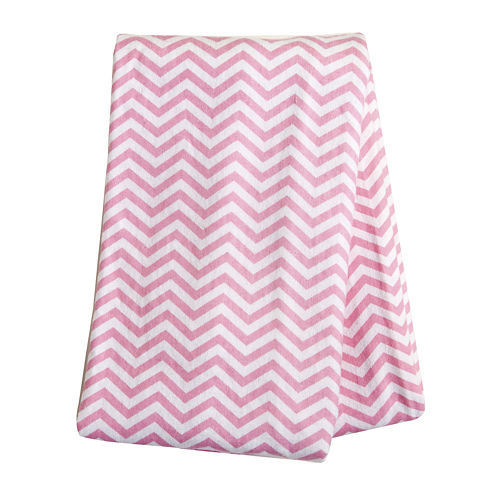 Trend Lab® Pink Chevron Deluxe Swaddle Blanket
