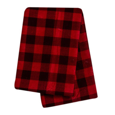 jcpenney.com | Trend Lab® Buffalo Check Deluxe Swaddle Blanket