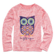 Arizona Long-Sleeve Graphic Tee - Preschool Girls 4-6x