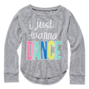 Okie Dokie® Long-Sleeve Tee - Preschool Girls 4-6x