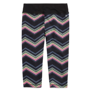 jcpenney.com | Xersion™ Chevron Capris - Girls 7-16 and Plus