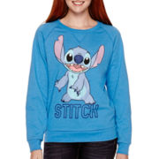 Long-Sleeve Stitch Fleece Pullover