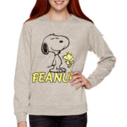 Peanuts Long-Sleeve Snoopy Fleece Pullover