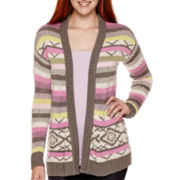 Arizona Long-Sleeve Patterned Cardigan