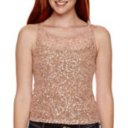 Arizona Sleeveless Sequin Top