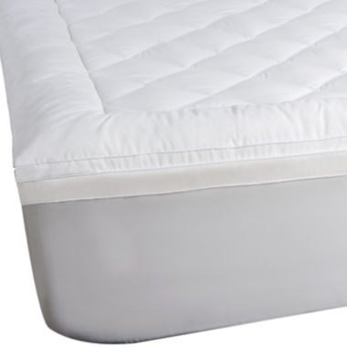 "jcpenney.com | Sealy® Posturepedic® 2""+1"" Memory Foam Mattress Topper"