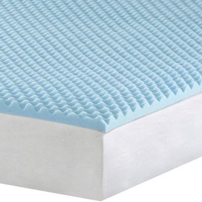 """1½"""" Gel Memory Foam Mattress Topper JCPenney"""