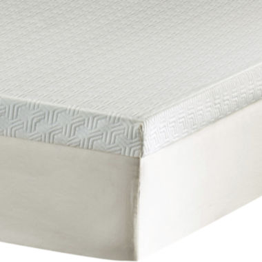 "jcpenney.com | 3"" Memory Foam Mattress Topper"