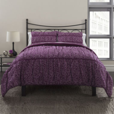jcpenney.com | Republic Ruched Petite Flora Duvet Cover Set