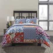 Republic Pattern Block 3-pc. Duvet Cover Set