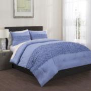 Republic Origami Pleated 3-pc. Comforter Set