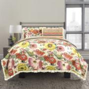 Republic Watercolor Floral Comforter Set