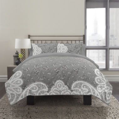 jcpenney.com | Republic Vintage Paisley 3-pc. Duvet Cover Set