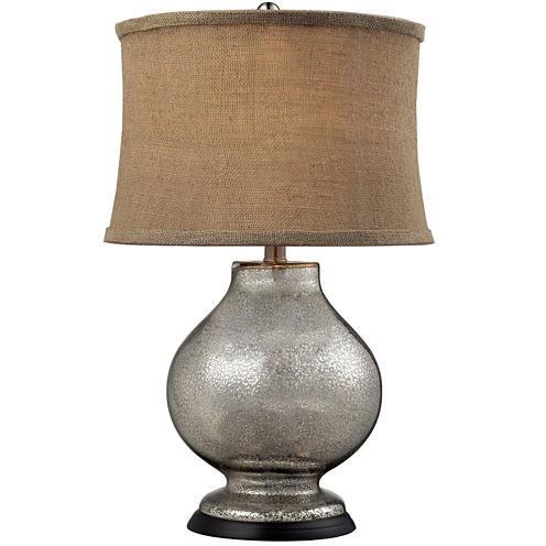 Stonebrook Antique Mercury Glass Table Lamp