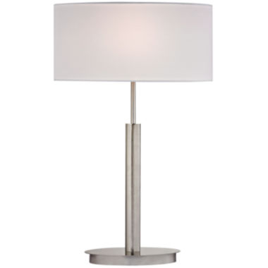 jcpenney.com | Port Elizabeth Satin Nickel Table Lamp