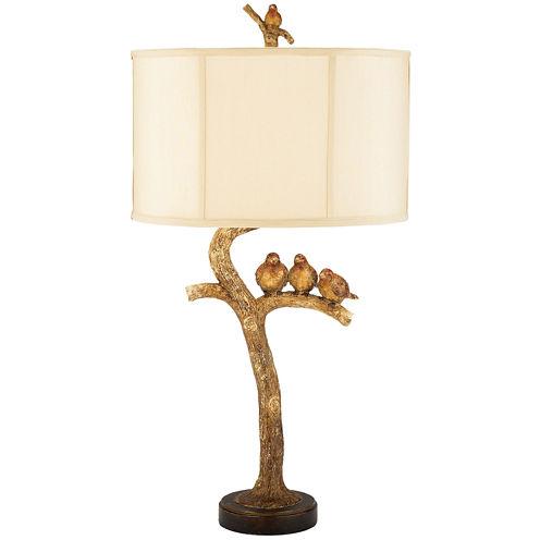 3-Bird Table Lamp