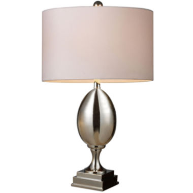 jcpenney.com | Waverly Chrome-Plated Glass Table Lamp