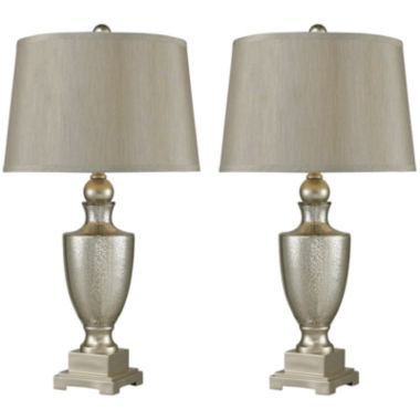 jcpenney.com | Set of 2 Antique Mercury Glass Table Lamps