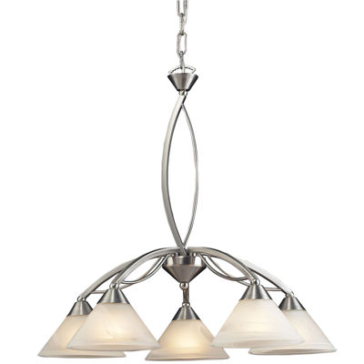 Elysburg 5-Light Upside Down Chandelier