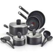 T-fal® Soft Sides 12-pc. Nonstick Cookware Set