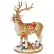 Fitz and Floyd® Bountiful Holiday Deer Figurine Tabletop Centerpiece