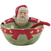 Fitz and Floyd® Letters to Santa Dip Bowl with Spoon